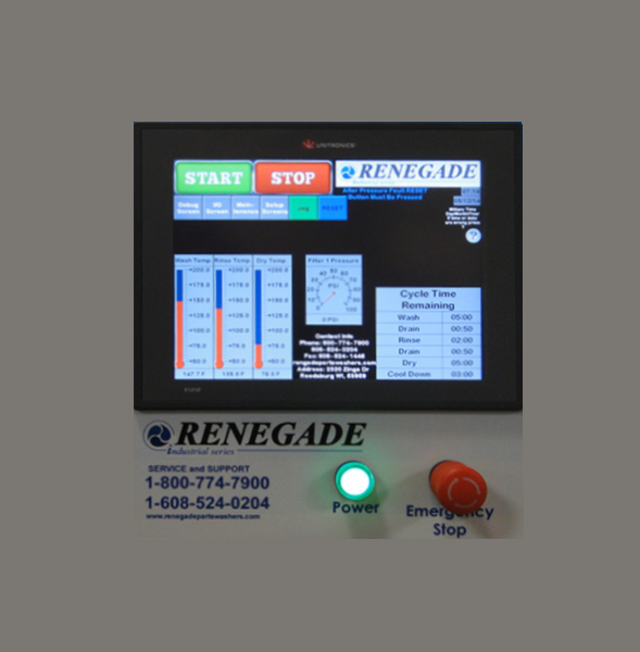 Renegade 3048 Industrial Parts Washer