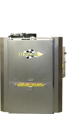 Robotically Loaded Vertical Door Parts Washer