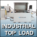 top load industrial parts washers