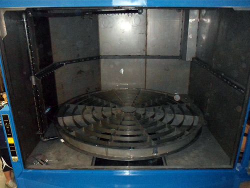 TMB 12072  Parts Washer Internal View 2