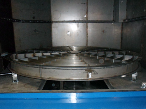 TMB 12072  Parts Washer Internal View