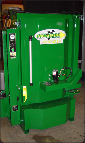 Custom Green Color Parts Washer