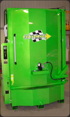 Custom Lime Green Color Parts Washer