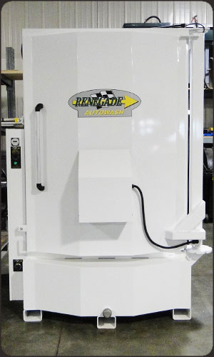 Custom White Color Parts Washer